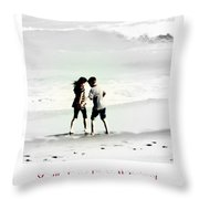 You'll Always Be My Valentine Throw Pillow by Susanne Van Hulst