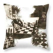 Your Move Throw Pillow by Caitlyn  Grasso