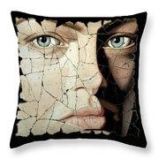Zara Throw Pillow by Steve Bogdanoff