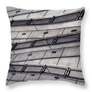 Zig Zag Throw Pillow by Art Block Collections