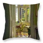 Interior Morning  Throw Pillow by Patrick Williams Adam