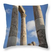 The Ruins Of The Ancient Citadel, Or Throw Pillow by Taylor S. Kennedy
