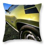 1971 Plymouth Gtx Throw Pillow by Gordon Dean II