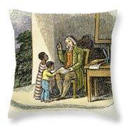 Anthony Benezet (1713-1784) Throw Pillow by Granger