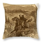 Benedict Arnold, American Traitor Throw Pillow by Photo Researchers