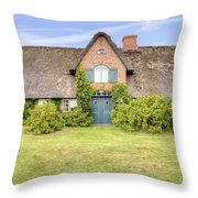 Braderup - Sylt Throw Pillow by Joana Kruse