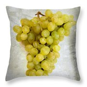 Bunch Of Grapes Throw Pillow by Bernard Jaubert