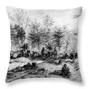Civil War: Spotsylvania Throw Pillow by Granger