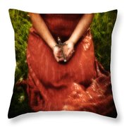 Crucifix Throw Pillow by Joana Kruse