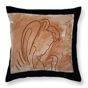 Divine Shepherd Throw Pillow by Gloria Ssali