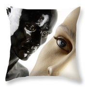 Dummies Throw Pillow by BERNARD JAUBERT