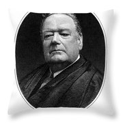 Edward Douglass White Throw Pillow by Granger