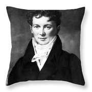 François Magendie, French Physiologist Throw Pillow by Science Source