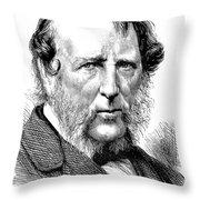 George Cruikshank Throw Pillow by Granger