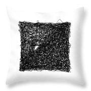 Line 6 Throw Pillow by Rozita Fogelman