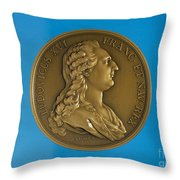 Louis Xvi Of France Throw Pillow by Granger