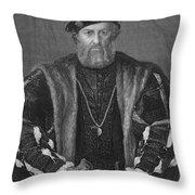 Ludovico Sforza (1452-1508) Throw Pillow by Granger