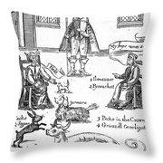 Matthew Hopkins (d. 1647) Throw Pillow by Granger