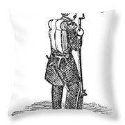 Mexican War: Soldier Throw Pillow by Granger