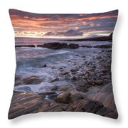 Mullaghmore Head, Co Sligo, Ireland Throw Pillow by Gareth McCormack