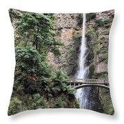 Multnomah Throw Pillow by Rudy Umans