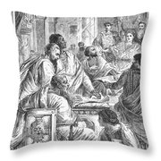 Nicaea Council, 325 A.d Throw Pillow by Granger