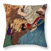 Oda Nobunaga (1534-1582) Throw Pillow by Granger