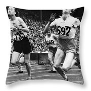 Olympic Games, 1948 Throw Pillow by Granger