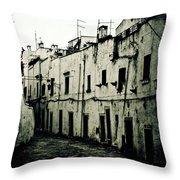 Ostuni - Apulia Throw Pillow by Joana Kruse