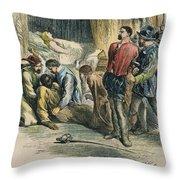 Othello, 19th Century Throw Pillow by Granger