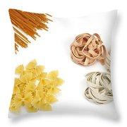 Pasta Throw Pillow by Joana Kruse