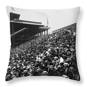 Pittsburgh: Forbes Field Throw Pillow by Granger