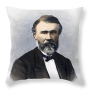 Richard Jordan Gatling Throw Pillow by Granger