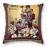 Sheet Music Cover, 1916 Throw Pillow by Granger
