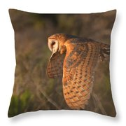 Silent Hunter Throw Pillow by Beth Sargent