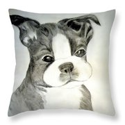 Simply Irresistable Throw Pillow by Maria Urso