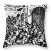 Sir Henry Morgan Throw Pillow by Granger