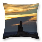 Standing Tall Throw Pillow by Sandra Bronstein