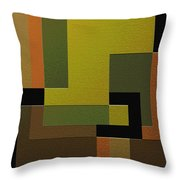 Strength Throw Pillow by Ely Arsha