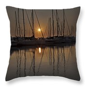 Sunset Throw Pillow by Joana Kruse
