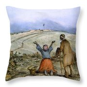 The Sanctuary, 1863 Throw Pillow by Granger