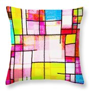 Town Throw Pillow by Setsiri Silapasuwanchai
