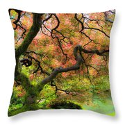 Tree of Beauty Throw Pillow by Steve McKinzie
