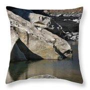Valle Maggia Throw Pillow by Joana Kruse