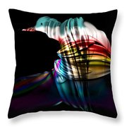 Waiting For The Dawn Throw Pillow by Julie  Grace