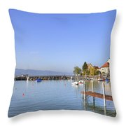 Wasserburg Throw Pillow by Joana Kruse