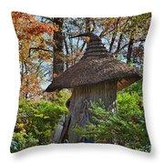 Winterthur Gardens Throw Pillow by John Greim
