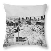 Civil War: Petersburg Throw Pillow by Granger