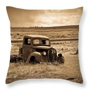 1938 Ford Pickup Throw Pillow by Steve McKinzie