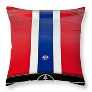1956 Maserati 350 S Throw Pillow by Jill Reger
